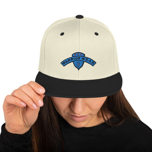 Women's Snapback Hat - Natural/ Black