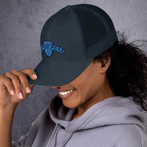 Women's Trucker Cap - Navy