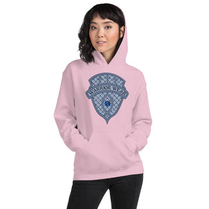 Women's Hoodie- JESUS CHRIST IS KING - Light Pink / S
