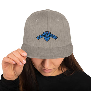 Women's Snapback Hat - Heather Grey