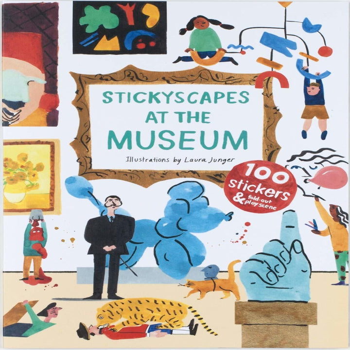 Stickyscapes At The Museum Activity Book