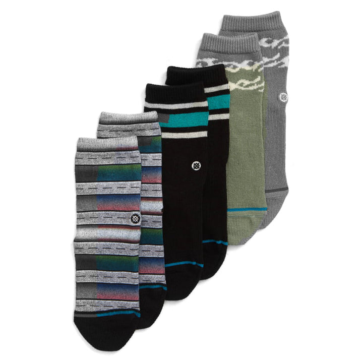 Stance Boyd Toddler Socks (green/black/grey)