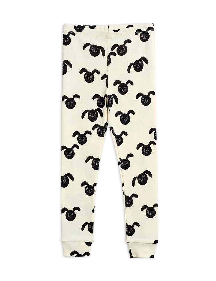 Mini Rodini SS21 Rabbits Print Kids Leggings