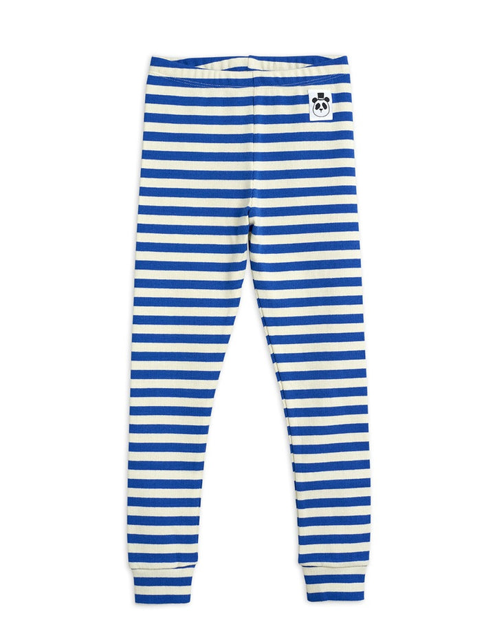 Mini rodini SS21 Striped Cotton Leggings