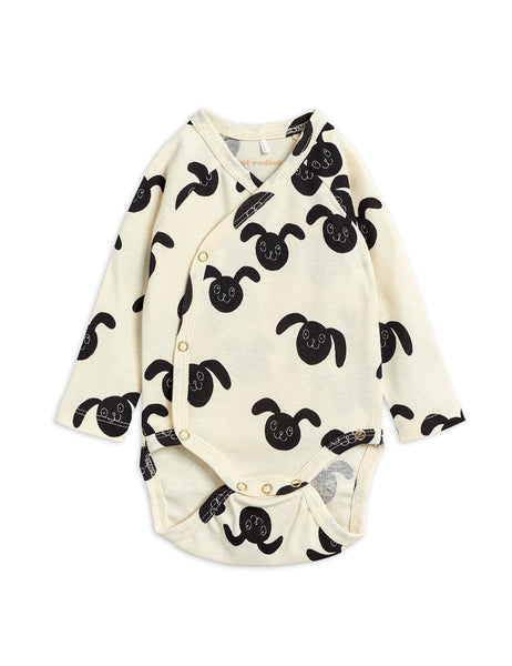 Mini Rodini Rabbit Newborn Wrap Onesie