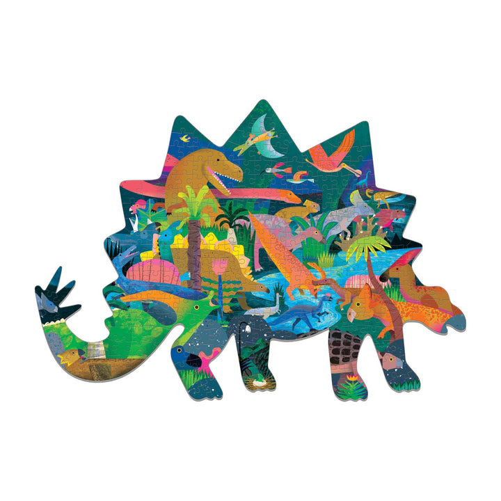 Dinosaur Shaped 300 Piece Puzzle
