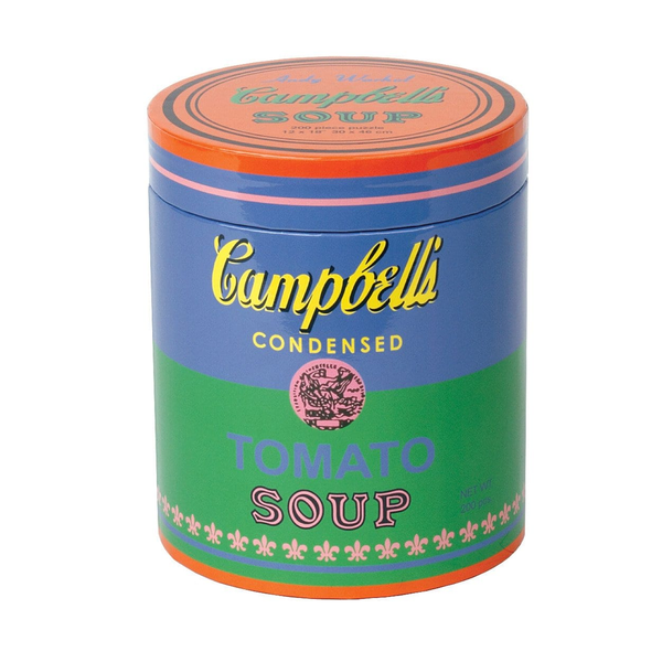 Andy Warhol Soup 200 Piece Puzzle