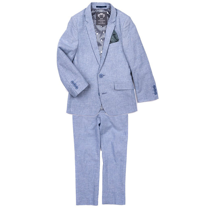 Appaman Mod Suit Set (dusty blue)