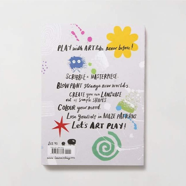 Art Play Activity Book for 7 and Up - back cover