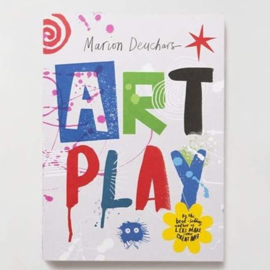 Art Play Activity Book for 7 and Up