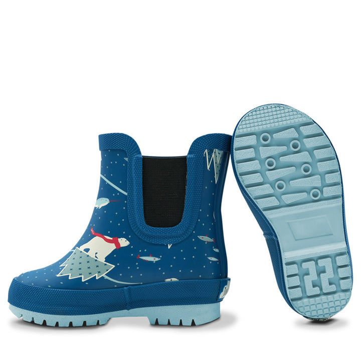 Natural Rubber Kids Rain Boots (arctic)