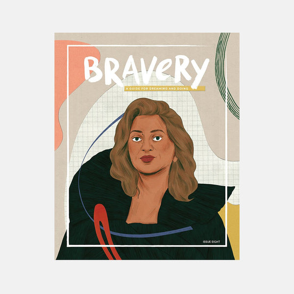 Bravery Magazine: Issue Eight (Zaha Hadid)
