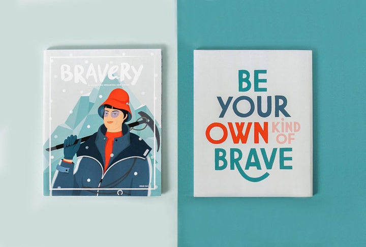 Bravery magazine issue 6: Junko Tabei -  front and back