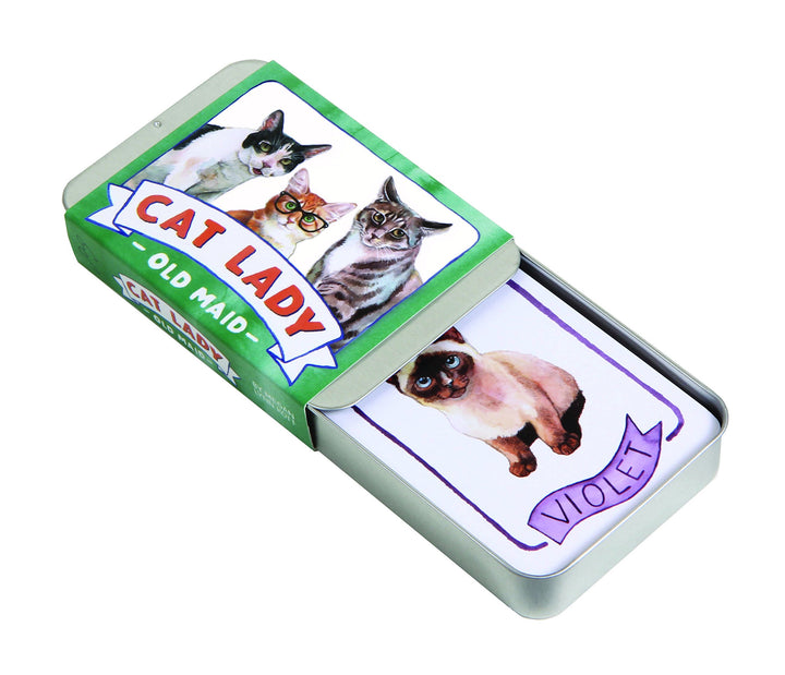 Cat Lady Old Maid Card Game by Megan Lynn Knott