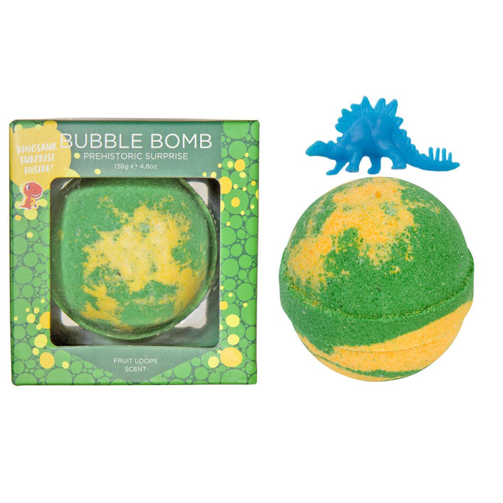 Dinosaur Surprise Bath Bombs for Kids (green)