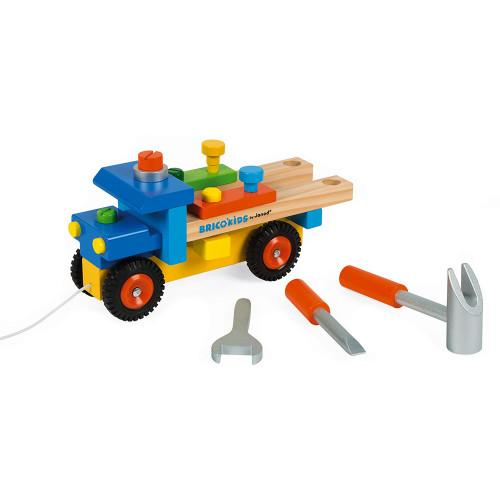 truck with tools