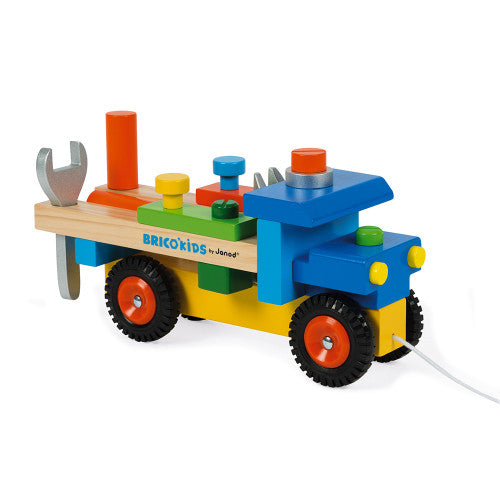 Pull & Build Kids DIY Truck