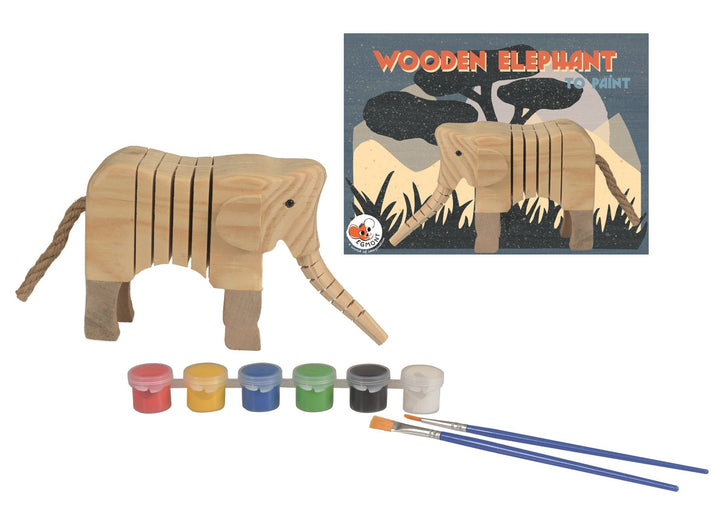 Paint Your Own Articulated Elephant