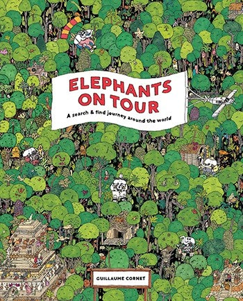 Elephants on Tour: A Search & Find Journey Around the World