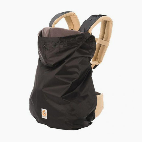 Ergo Winter Baby Carrier Cover - on carrier