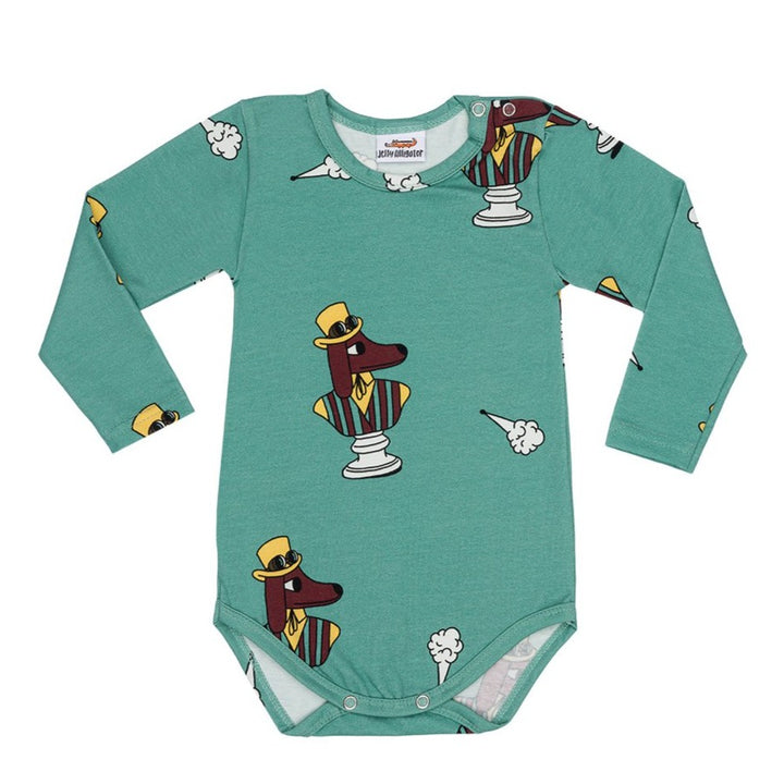 Jelly Alligator Fogdog Onesie