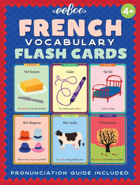 French-English Flash Cards Beginner