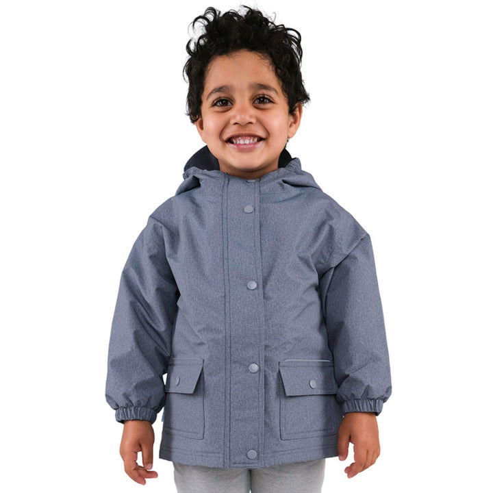 Infant Waterproof Rain Jacket (grey)