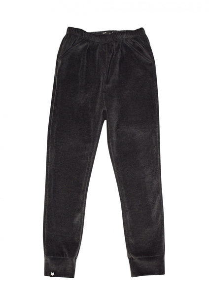 Hebe Velour Pants (grey)