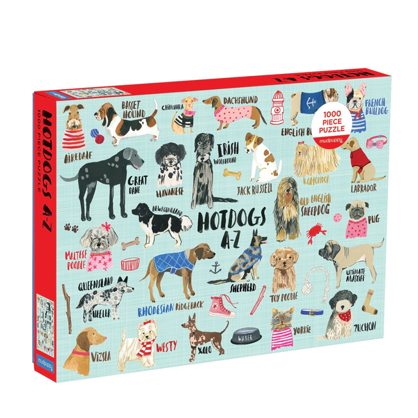 Hot Dogs A - Z 1,000 Piece Puzzle