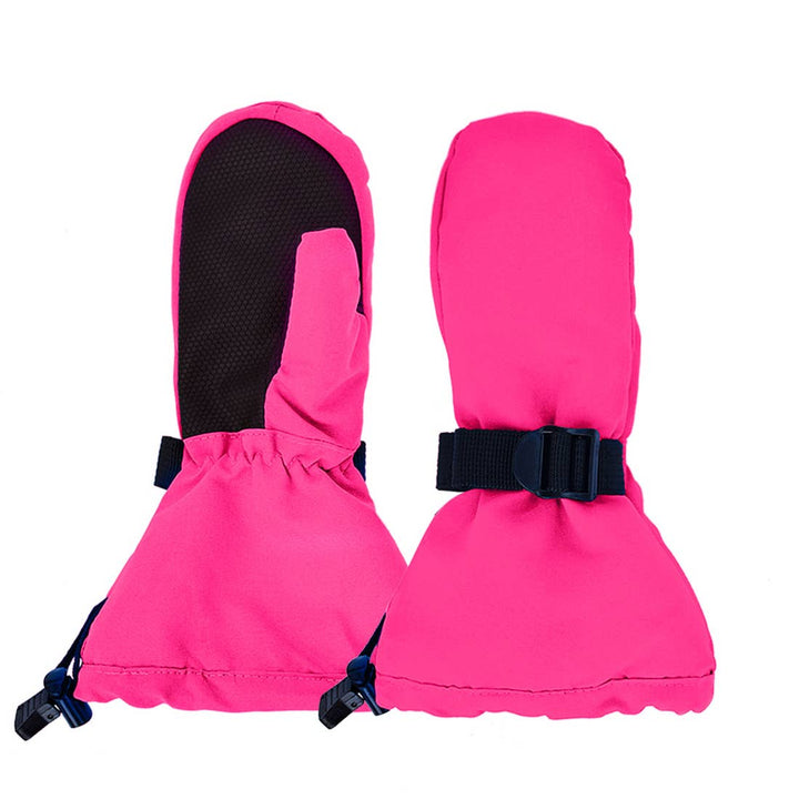 Winter Snow Gloves (pink/gray)