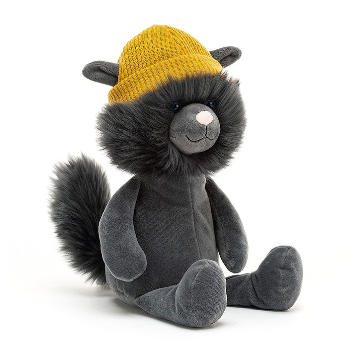 Rap Cat by Jellycat (grey)