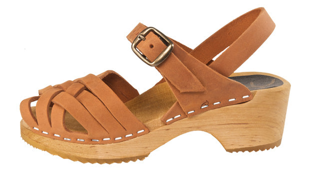 Cape Clogs Bambi Kids (tan nubuck)