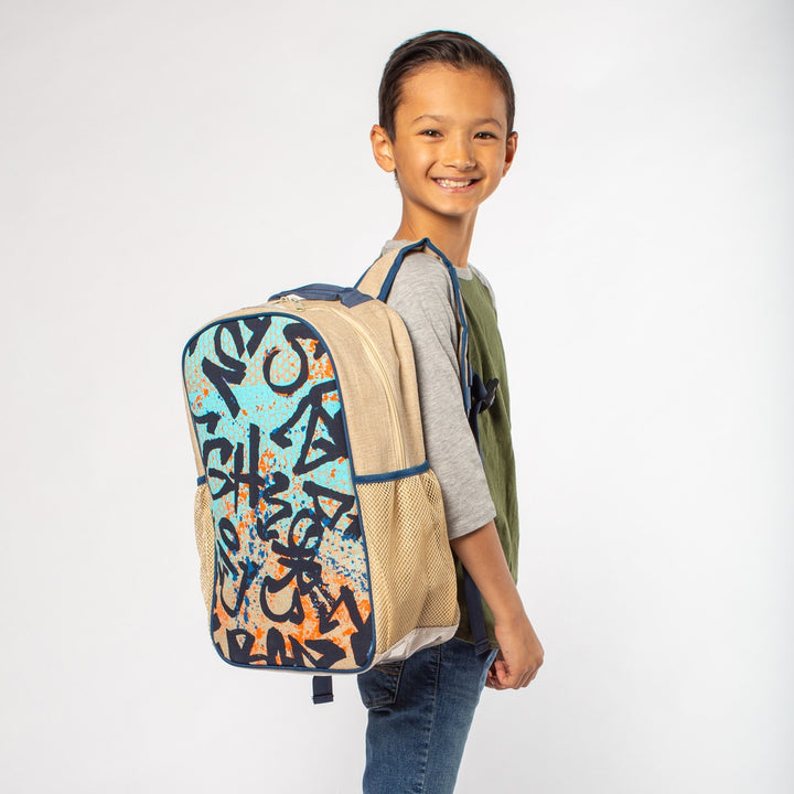 Youth Graffiti Washable Backpack