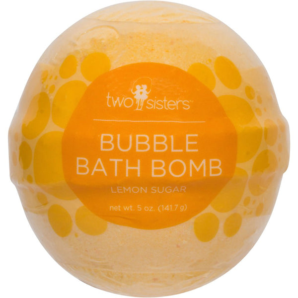 Lemon Scented Bubble Bath Bomb