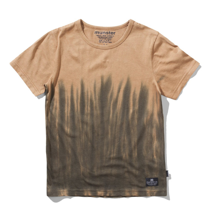 Munster Tan/Brown Dipped Tee Shirt for Kids