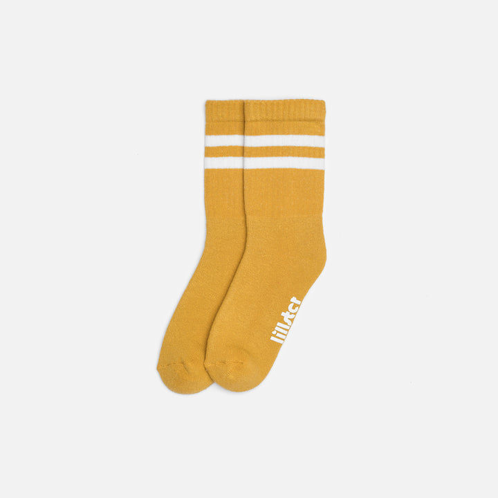 Lillster Striped Tube Sock (mustard)