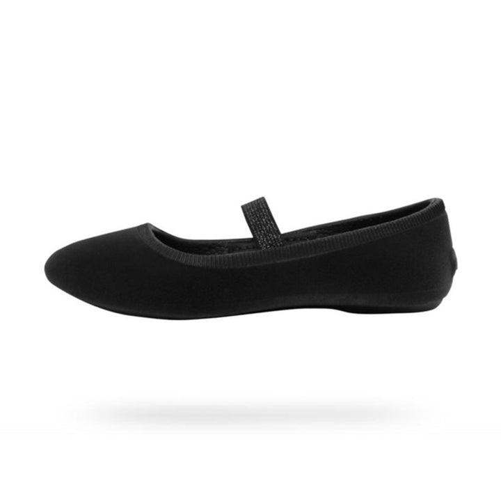 Native Margot Velvet Slip On Shoe (black)