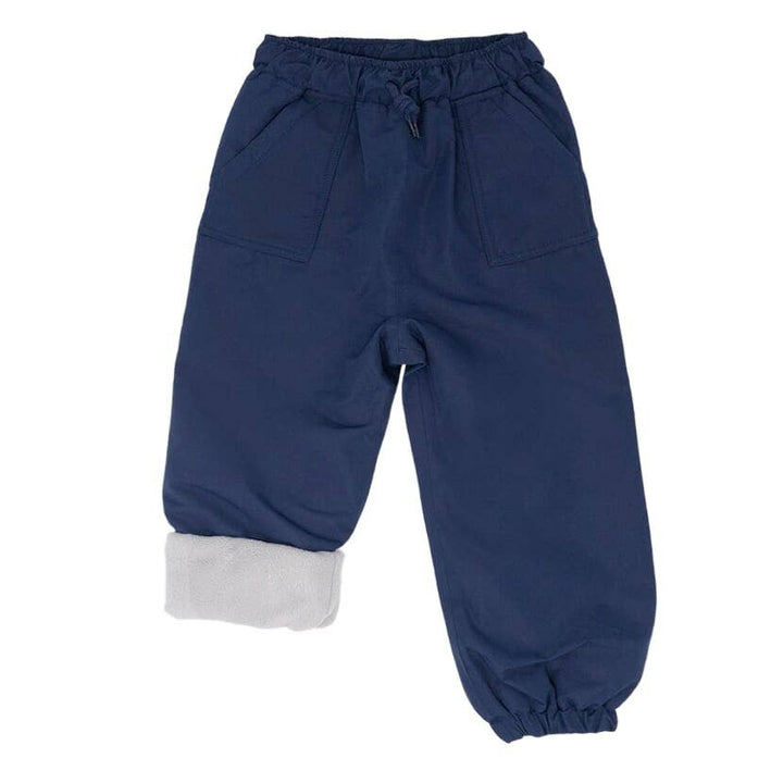 Fleece Lined Waterproof Rain & Snow Pant (navy)