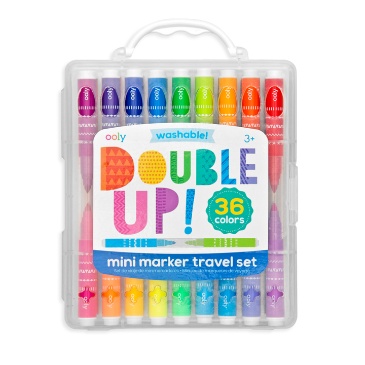 OOLY Double-Up! 2-in-1 Mini Markers