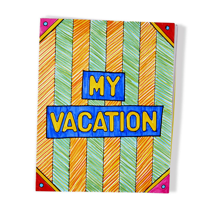On the Go Vacation Journal