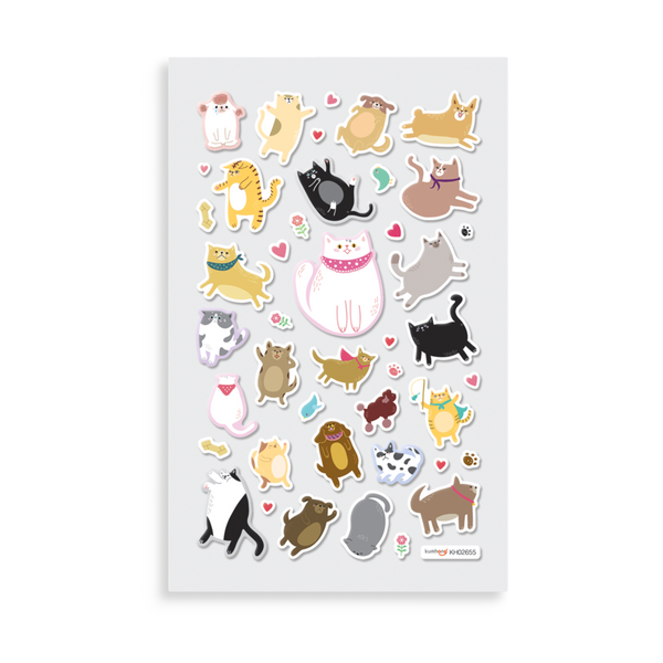 OOLY Itsy Bitsy: Puffy Pets Stickers