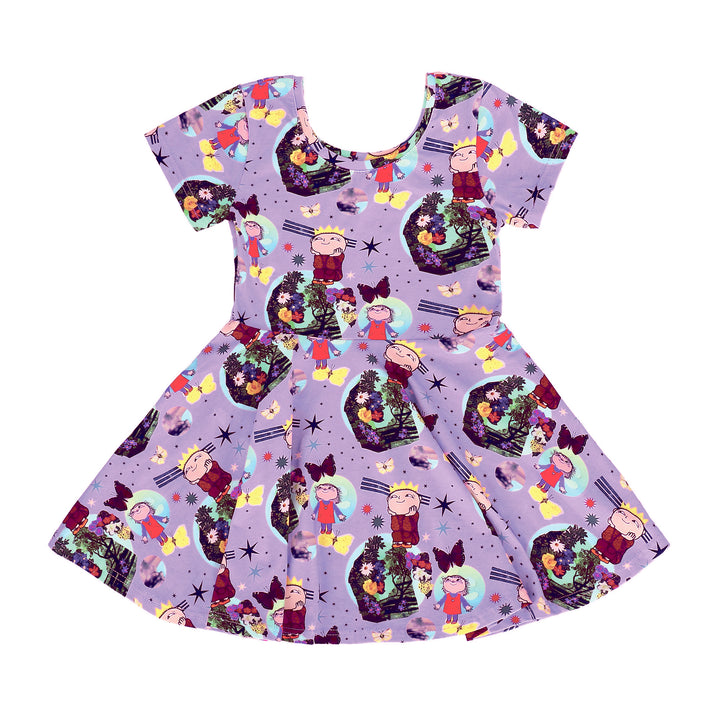 Raspberry Republic Organic Mother Earth Dress (purple)