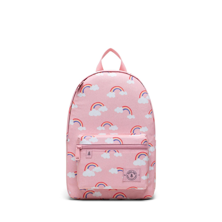 Parkland Recycled Rainbow Edison Kids Backpack (pink)