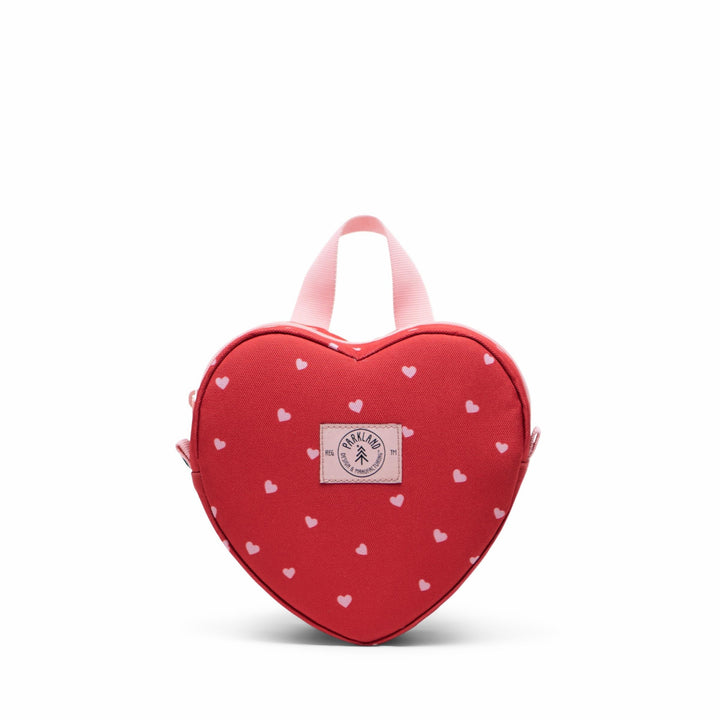 Parkland Heart Shaped Backpack (red)