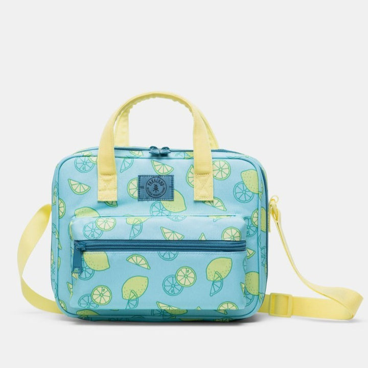 Parkland Tag Lime Lunch Bag (aqua/yellow)