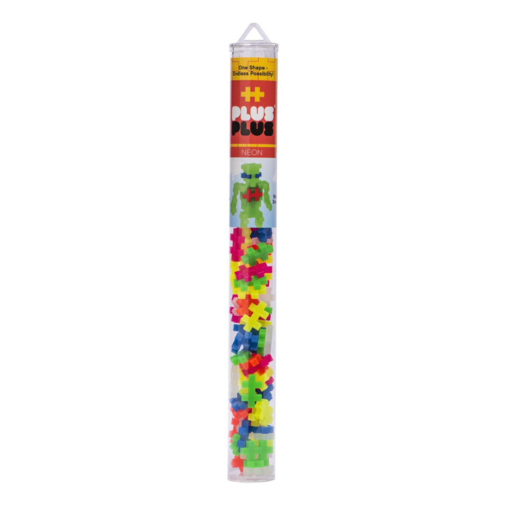 Plus-Plus Tube - Neon Mix (70pcs)
