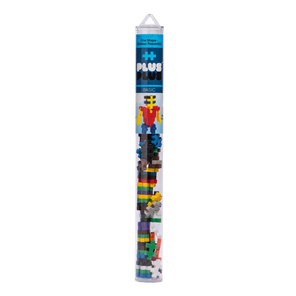 Plus-Plus Tube - Basic Mix (70pcs)