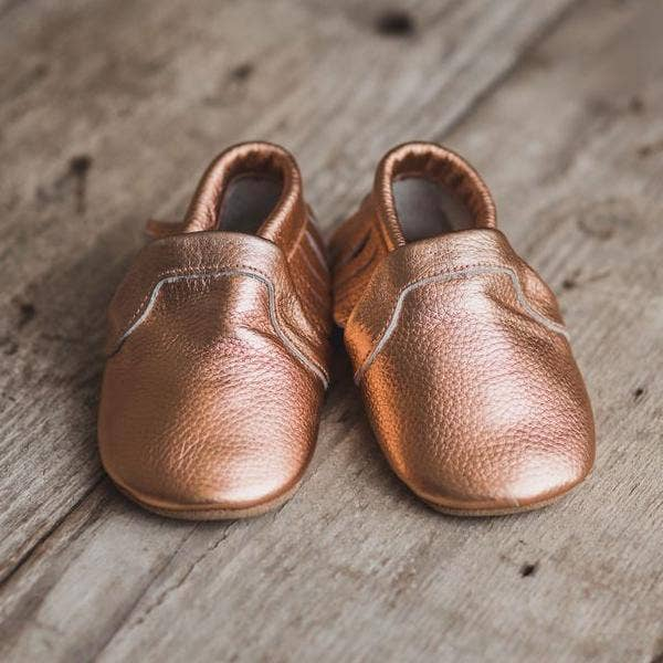 Classic Baby Moccasin (rose gold)