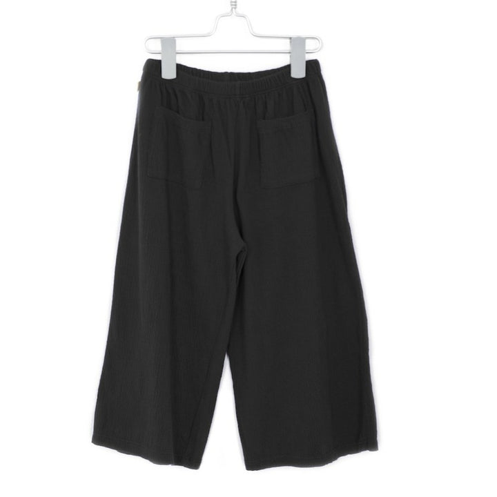LotieKids Black Organic Cotton Culotte