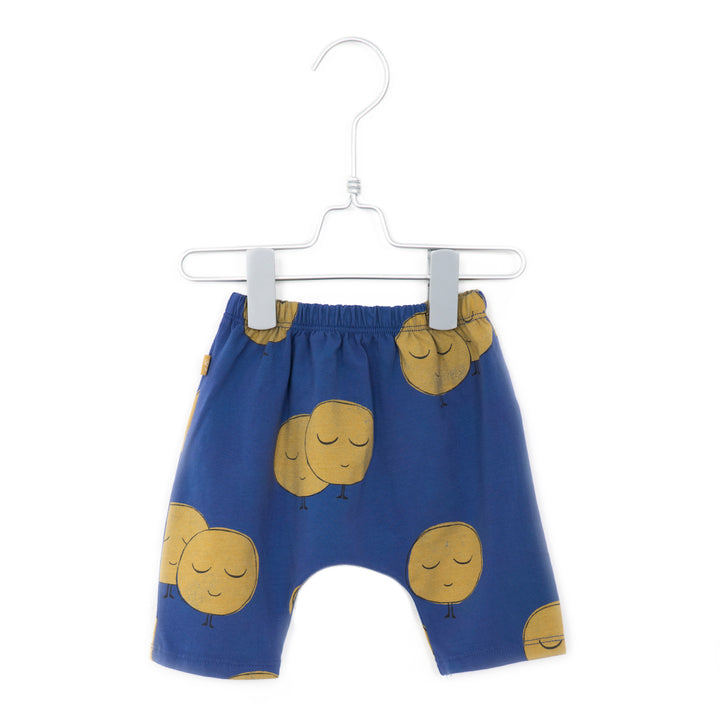 LotieKids Moons Infant Culottes (indigo)